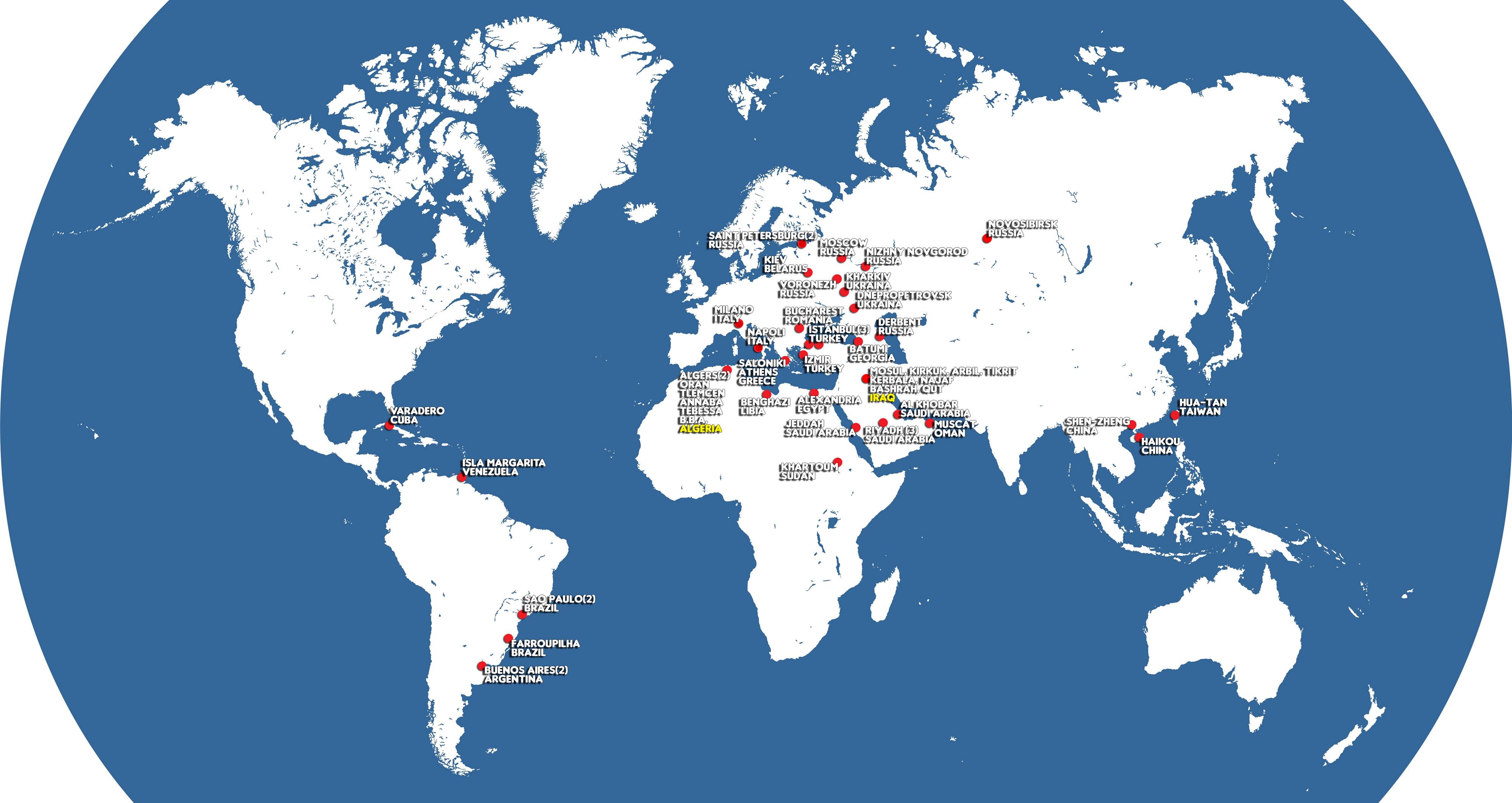 Baustudio World Map