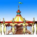 Gardaland Merry-go-round