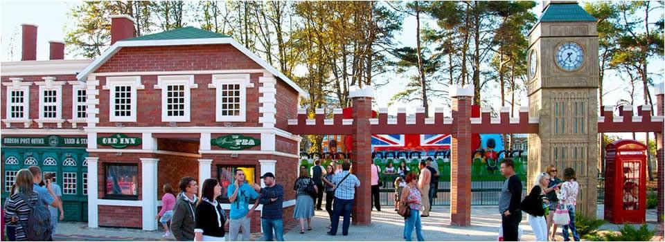 Theme park design final result